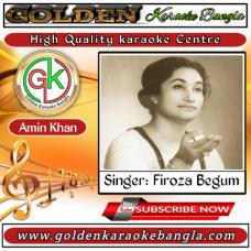 Laili Tomar Eseche Feria | লাইলি তোমার এসেছে ফিরিয়া | Bangla Karaoke By Feroza