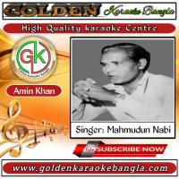 Aynate Oi Mukh Dekhbe Jokhon | আয়নাতে ঐ মুখ দেখবে যখন | Bangla Karaoke | Mahmudun Nabi