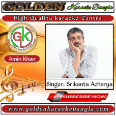 Brishti Tomake Dilam   বৃষ্টি তোমাকে দিলাম   Bangla Karaoke By Sreekanta Acharya