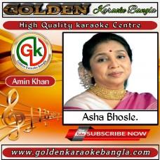 Chupke chupke raat din | Hindi Karaoke By Asha bhosle