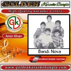 Shojoni Shajero Tara Hoye | সজনী সাঁজেরও তারা হয়ে | Bangla Karaoke By Nova Band