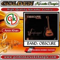 Rojoni Kate | রজনী কাটে | Bangla Karaoke By Obscure
