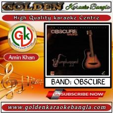 Rojoni Kate   রজনী কাটে   Bangla Karaoke By Obscure