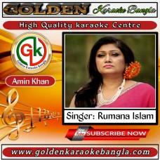 Mayer Moto Apon Keho Nai   মায়ের মত আপন কেহ নাইরে   Bangla Karaoke By Rumana Islam