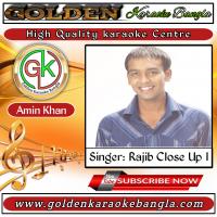 Chokh Je Moner Kotha Bole | চোখ যে মনের কথা বলে | Bangla Karaoke By Rajib Close Up 1
